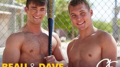 Photo of Dave enrabado por Beau depois do treino de beisebol – Bareback