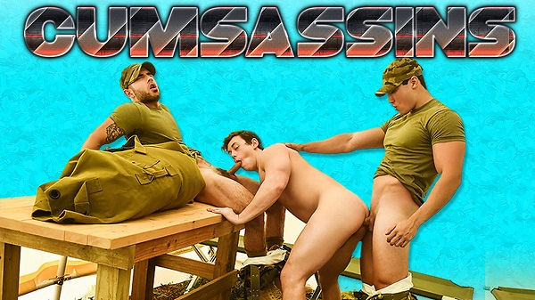 Cumsassins - Episódio 2 - Tobias, Axel Kane & Vadim Black