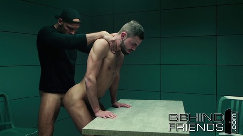 BehindFrends - Gay Mantic Interrogation - Jeffrey Lloyd & Thomas Friedl