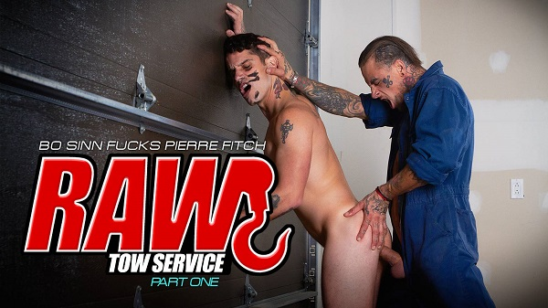 Raw Tow Service Part 1 Cover