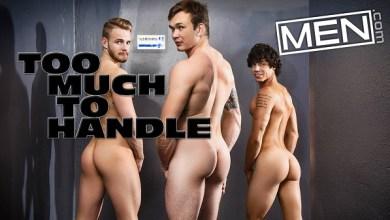 Photo of 3 Macho se divertindo no Banheiro – Jackson Traynor, Kaleb Stryker & Liam Wood