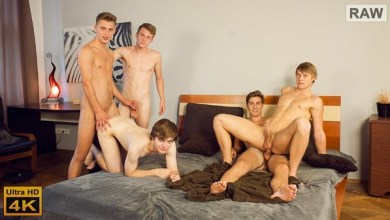 Photo of WilliamHiggins – Wank Party 113, Part 2 – Bareback