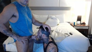 Photo of Live CB Show – Michael Hoffman Sucks Dick, Gets Sucked and Kisses a guy (with mealticcet aka Rico)