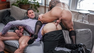 Photo of LucasEntertainment – Dylan James And Alexander Volkov Double-Team Andrey Vic