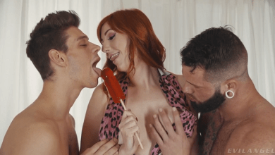 Photo of Lauren Phillips' Bisexual Threesome – Michael DelRay & Johnny Hill