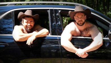 Photo of TheGuySite – Steve Roman, Vinnie – Fisting a Cowboy