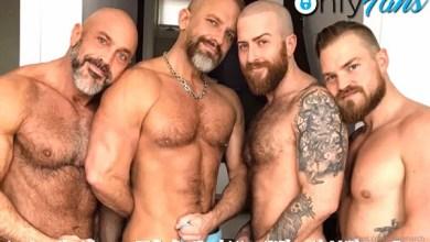 Photo of Raw Orgy – Jesse Jackman, Dirk Caber, Nigel March & KittenBear