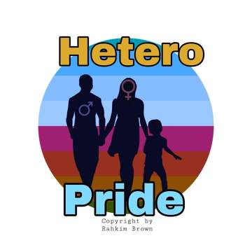 Hetero Pride Logo by Rahkim Brown