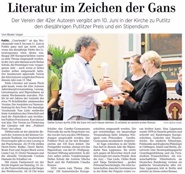 Märkische Allgemeine Juni 2017