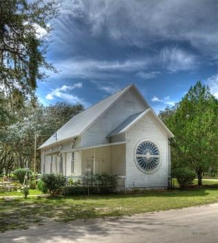 photo of Florahome Methodist church, Florahome FL