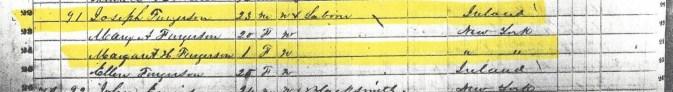 1850 US Census Forestburgh, New York