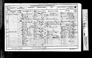 1861 UK Census Staley, Cheshire