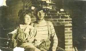 Etta Francis and Ira Putnam Elliott Ranch prior to 1910