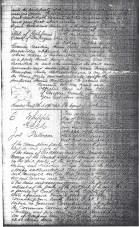 1862 San Joaquin County Recorded Deed E. Whipple & Jos. Putnam