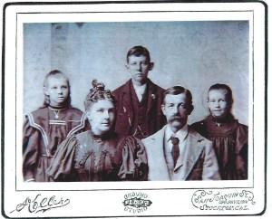 Lena, Ira, Blanche Grace, and Joseph F. Putnam 1897 Photo courtesy of Frances Steggs