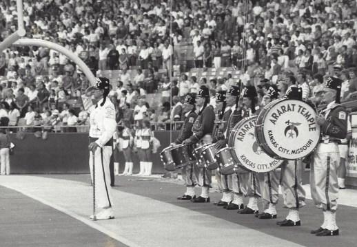 Walter Dougherty  Shriner Drum Major Kansas City, MO