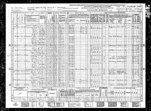 1940 US Census Salinas, Saline County, Kansas