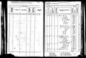 1905 Kansas State Census Liberty, Osborne County