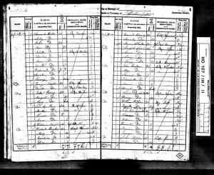 1841 UK Census Dunkenfield Cheshire