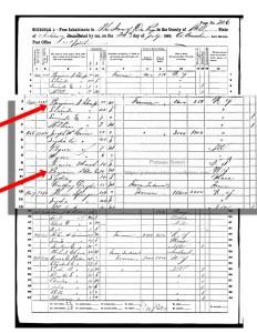 1860 US Census Illinois