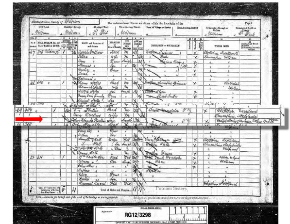 1891 UK Census Oldham, Lancashire