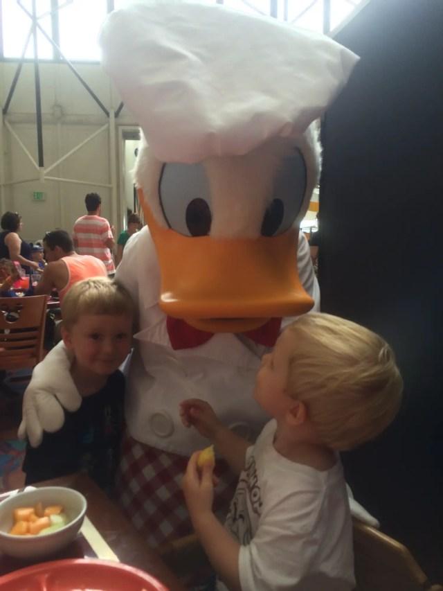 Chef Mickey;s Donald Duck