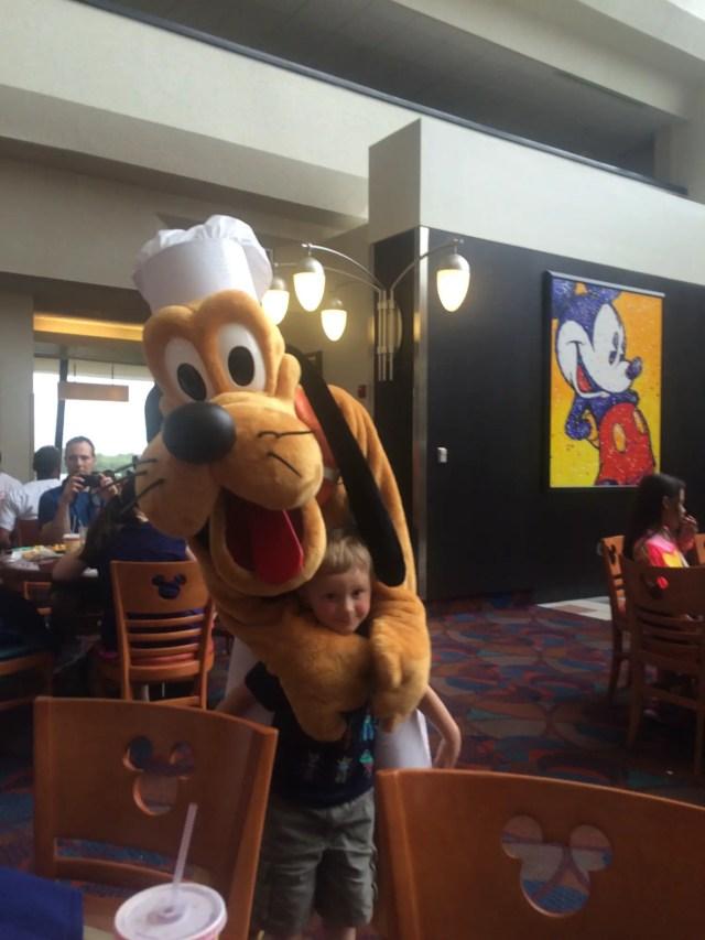 Chef Mickey's Pluto