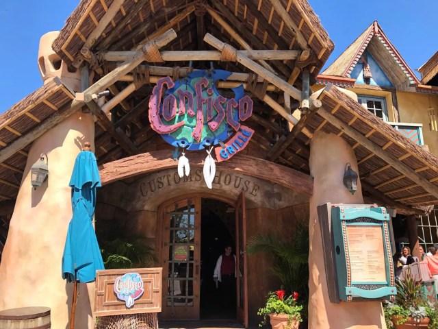 Universal Islands of Adventure Park Confisco Grille