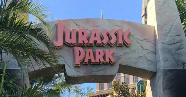 Universal Islands of Adventure Attractions Jurassic Park Entrance