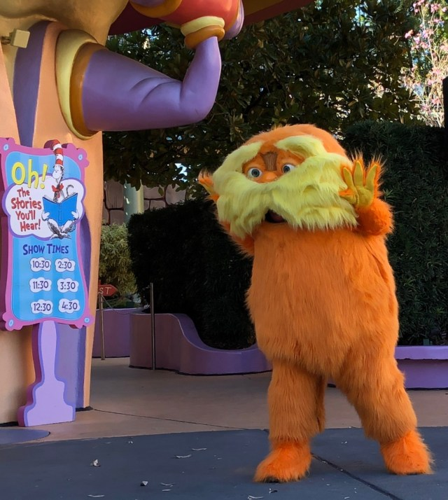 Oh!  The Stories You'll Hear!  Lorax