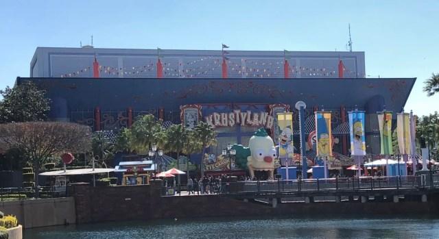 Universal Studios Florida Attractions Simpsons Ride