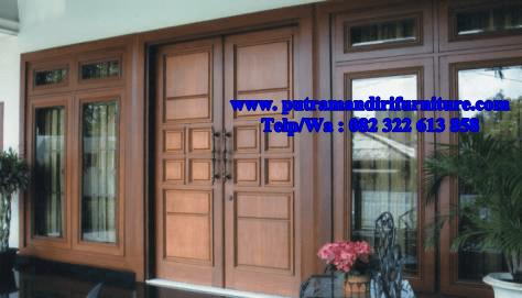 Pintu Rumah Minimalis Mewah Putra Mandiri Furniture