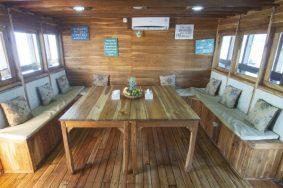 Indoor Dinning Room Maipa Deapati Liveaboard