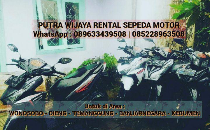 Sewa Sepeda Motor Wonosobo Rental Sepeda Motor Dieng
