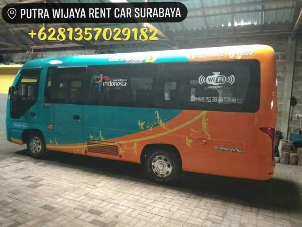 Rental Car Surabaya Sewa Elf Long - Elf Coaster Jetbus Jumbo Sidoarjo