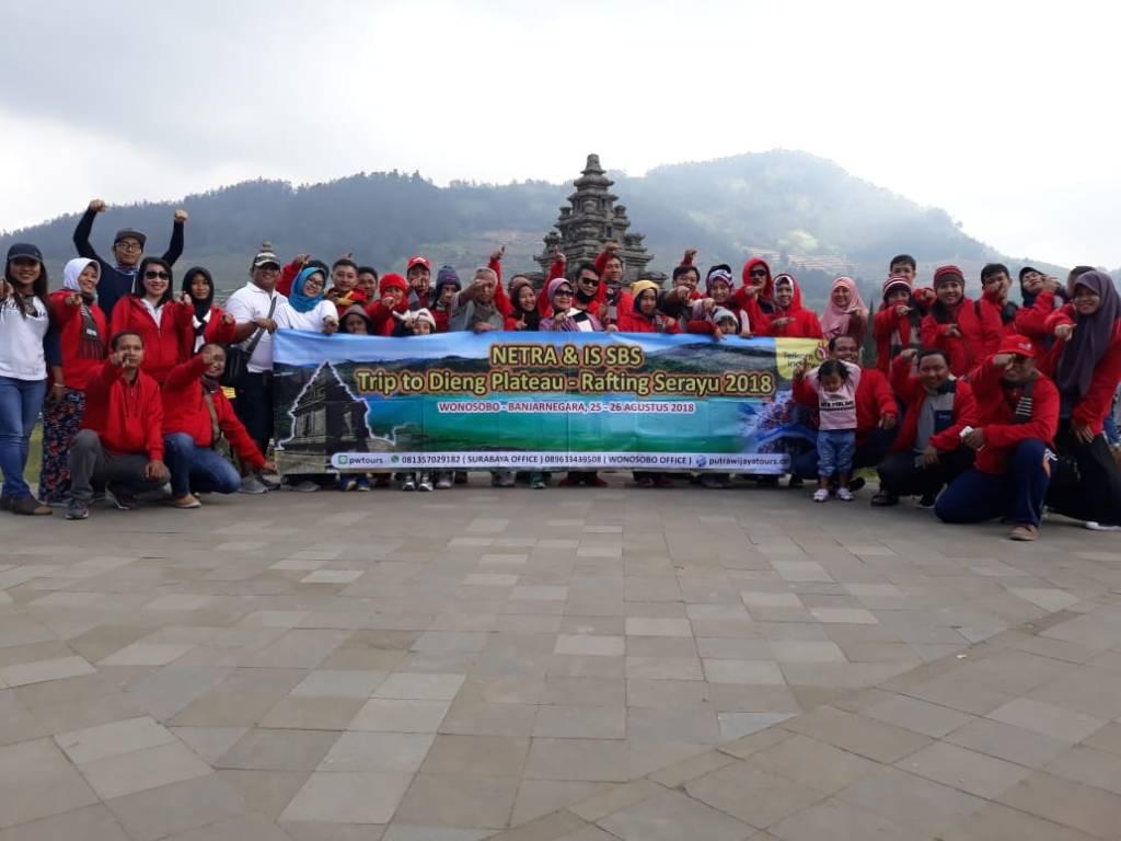 Agen Perjalanan Harga Paket Tour Murah, Biaya Paket Wisata Dieng Rafting Serayu dari Surabaya, Sidoarjo, Mojokerto, Gresik, Tuban, Kediri