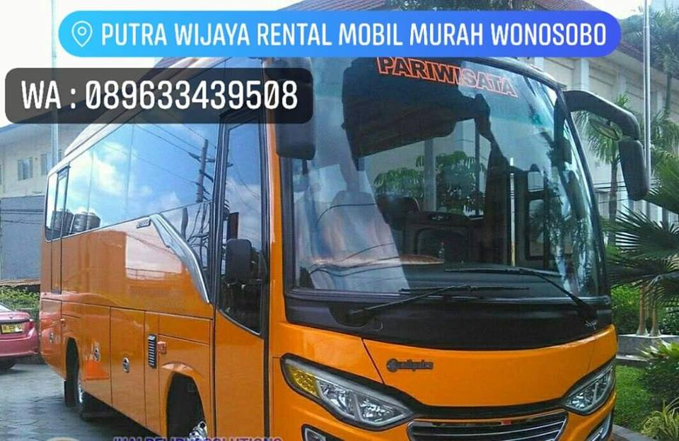 Sewa Bus Pariwisata di Wonosobo Dieng Banjarnegara Temanggung Kebumen Purbalingga