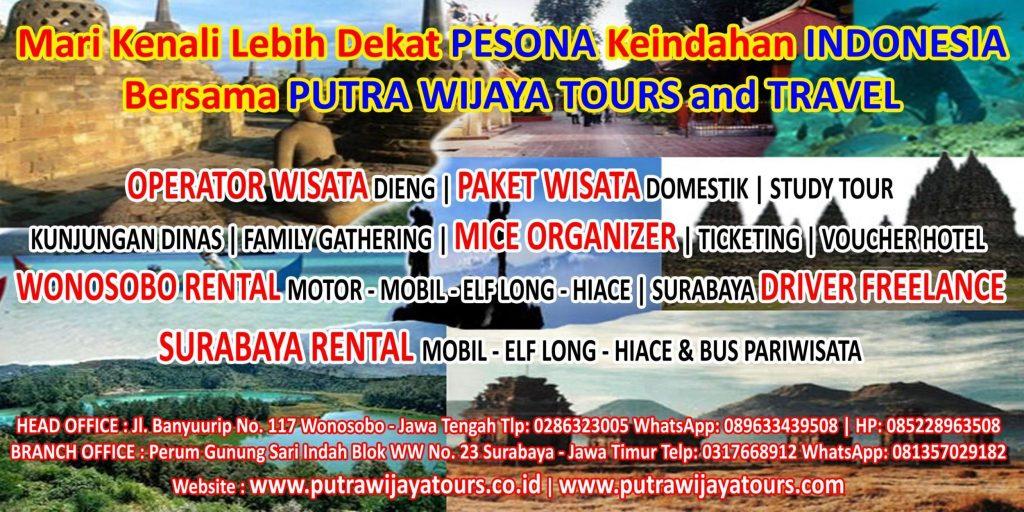 Lowongan Kerja Agen Tour Travel, Biro Wisata, Sewa Mobil, MICE Organizer, Driver Freelance Putra Wijaya