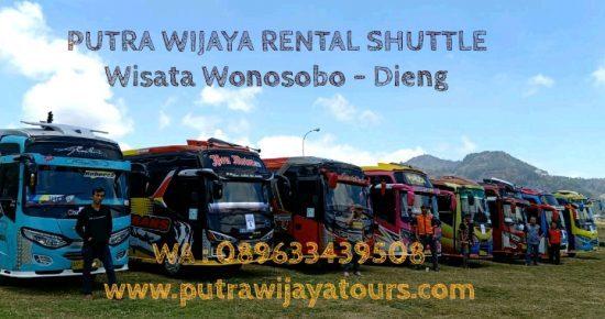Harga Sewa Shuttle Bus Mikro Wisata Dieng Wonosobo