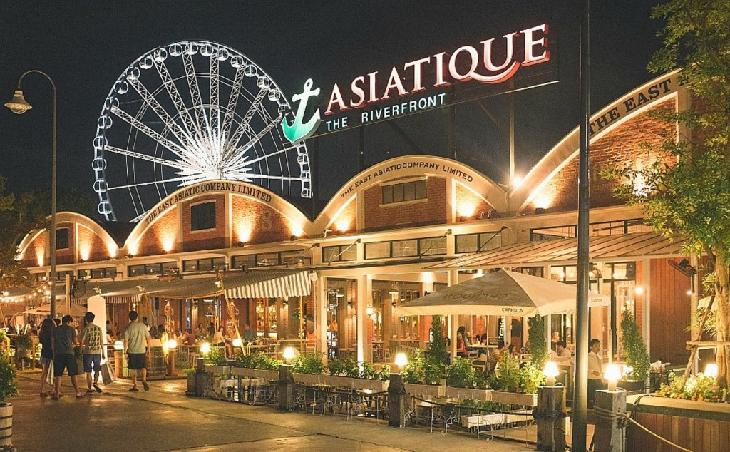 Paket Tour Thailand Bangkok Asiatique The River