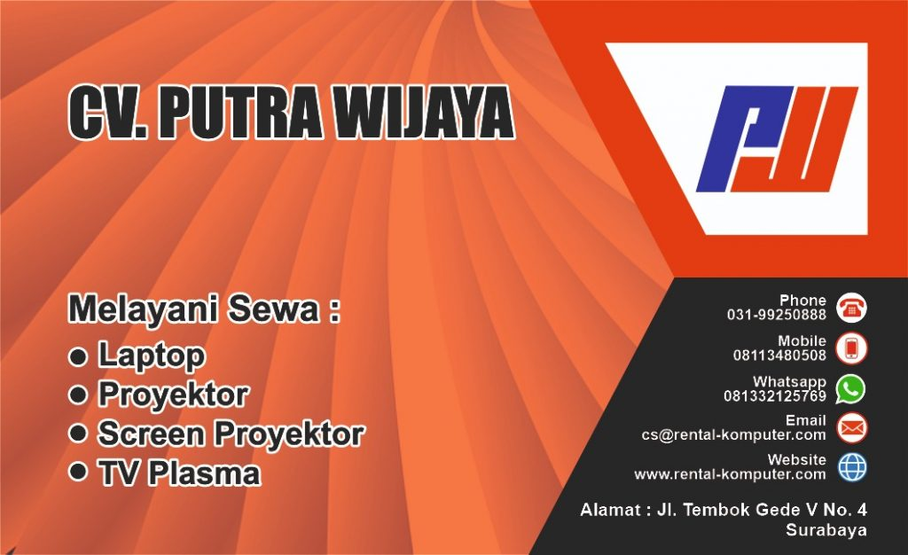 Sewa Rental Laptop Proyektor SCREEN TV Plasma Harian Mingguan Bulanan