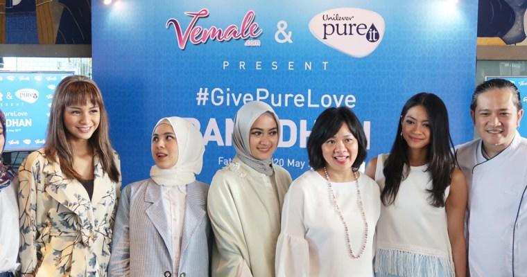 Berbagi Kebaikan Bulan Ramadhan Bersama Unilever PureIt