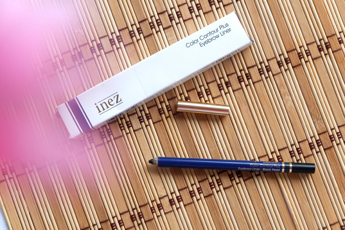 Inez Cosmetics Color Contour Eyebrow Pencil – Black Pearl