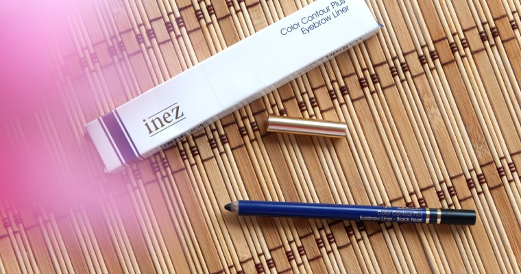 Inez Cosmetics Color Contour Eyebrow Pencil – Black Pearl