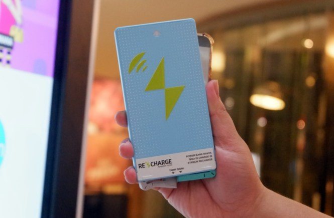 Recharge Pinjem Powerbank Di Mall