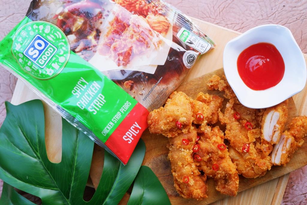Tentang Si Lauk Favorit, So Good Spicy Chicken Strip