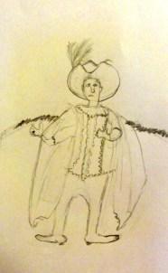 tekening van Simon (8 jaar)