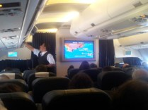 Our 90's plane entertainment