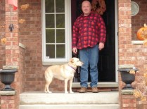 Scott and their lovely dog Ella in Capreol