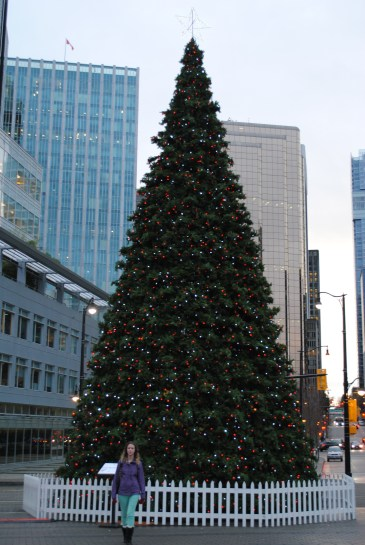 The Christmas Tree in Vancouver